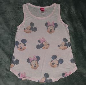 Minnie Mouse Tank Girls Size Medium 7/8